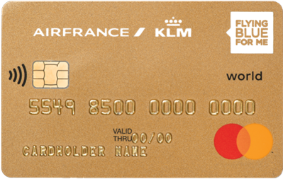 Flying Blue World Credit Card Viseca Card Services - Invoice klm