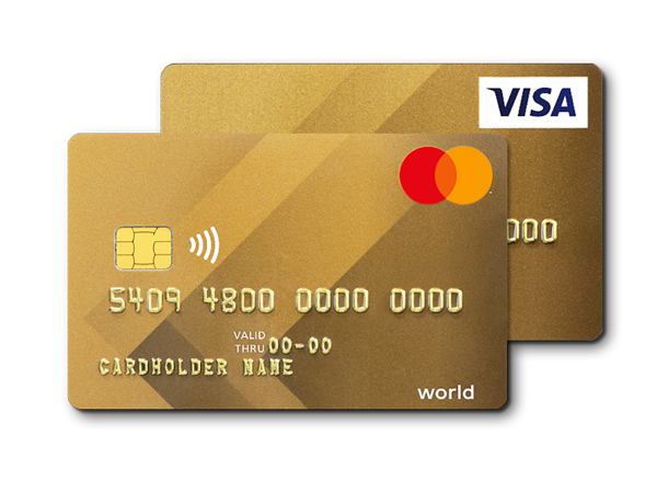visa mastercard gold credit card viseca card services
